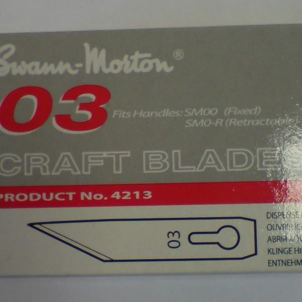 Swann Morton 03 Craft Blades